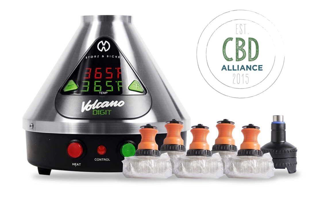 Volcano Vaporizer For CBD OIl