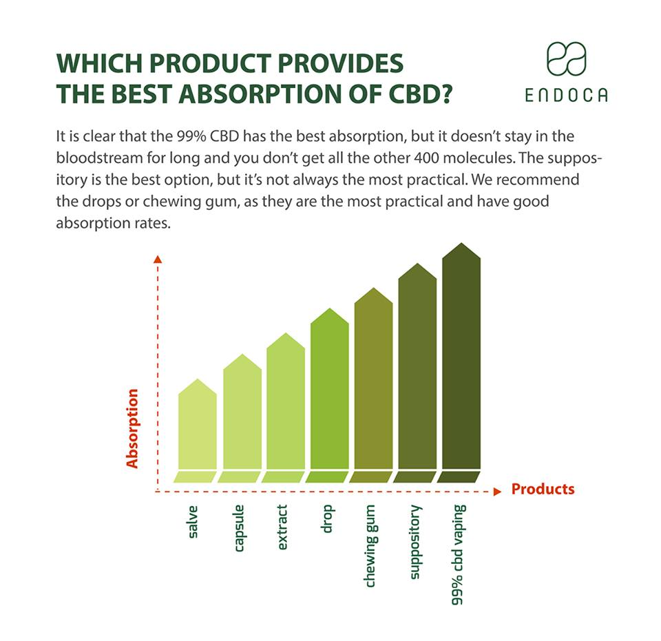 CBD Absorption rates