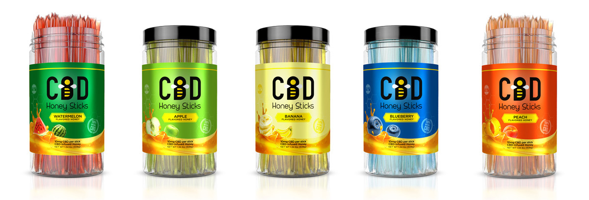 CBD Honey Sticks – The Easiest Way to Get Started with Cannabidiol